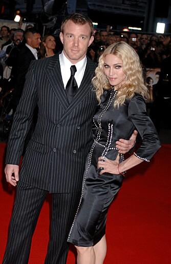 ØDELA EKTESKAPET?: Madonnas for store fokus på treningen kan være en av faktorene som ødela ekteskapet med Guy Ritchie.