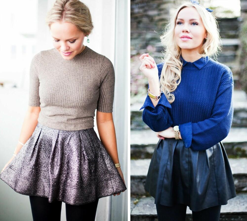 BLOGGER: Blogger Cathrine Heienberg, også kjent som Cath In The City, er en av dem som har omfavnet trenden for lenge siden. Skjørt som er stramme i midjen og ligger løst over hofter og rumpe, er en stor favoritt i garderoben hennes.