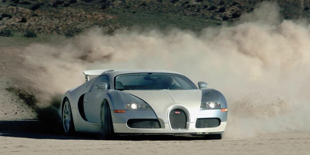 """IKKE KRAFTIGERE: Hvis du kjøper en oppdatert Veyron, må du fortsatt nøye deg med """"""""kun"""""""" 1001 hestekrefter."""