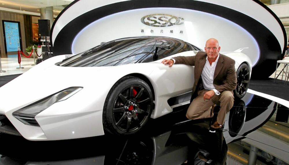 GRUNNLEGGEREN: Jarod Shelby er grunnleggeren av SSC - Shelby SuperCars. Foto: SSC