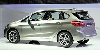 KOMBI: BMW 2-serie Active Tourer. FOTO: BMW