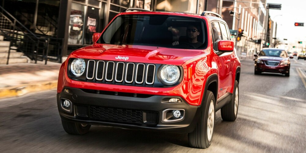 LITEN SUV: Jeep Renegade. FOTO: Jeep