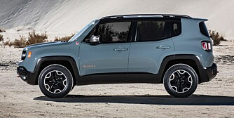 FIAT-BASE: Jeep Renegade. FOTO: Jeep