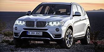 FACELIFT: BMW X3