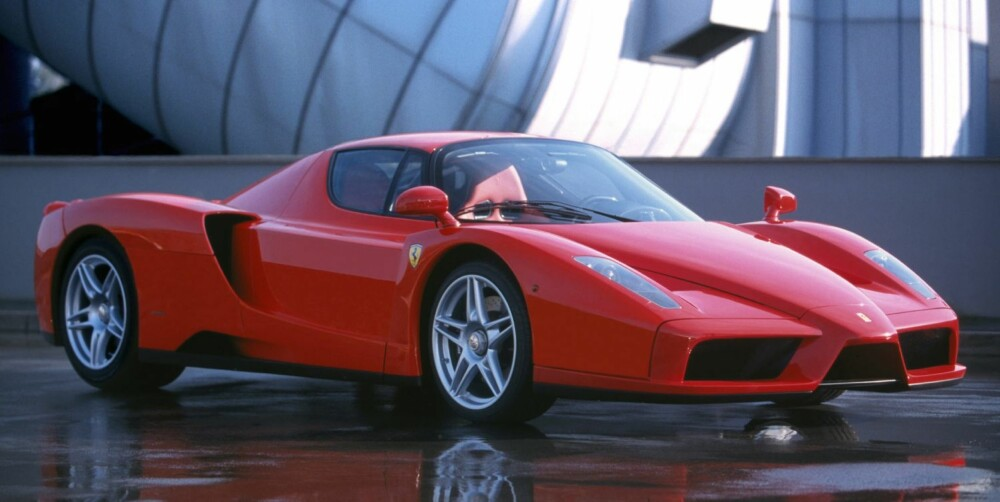 FORGJENGEREN: Ferrari Enzo. FOTO: Ferrari