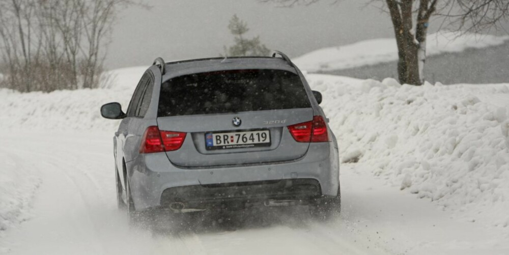 POPULÆR: Det er nok særlig BMW 3-serie som stasjonsvogn med xDrive som står høyt på ønskelisten. FOTO: Egil Nordlien HM Foto