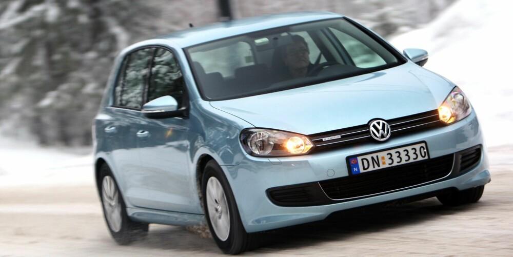 SALGSVINNER: VW Golf av sjette generasjon solgte i bøtter og spann som ny og er populær som brukt. FOTO: Egil Nordlien, HM Foto
