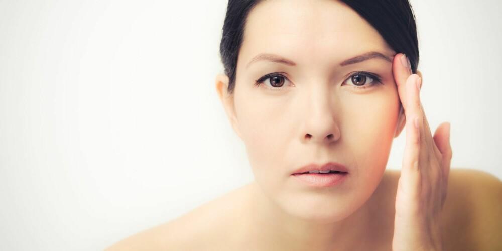 KVINNER HAR EN TYNNERE HUD: Ifølge Isabella Bukurie Krasniqi, klinikksjef hos Elite Helse Medisinsk Senter, får ikke menn like lett rynker som kvinner. - Årsaken er at mannens hud er tykkere, fastere og mer elastisk. En tynn hud gir lettere rynker enn en tykk hud. Mannens hud inneholder også mer kollagen, sier hun.