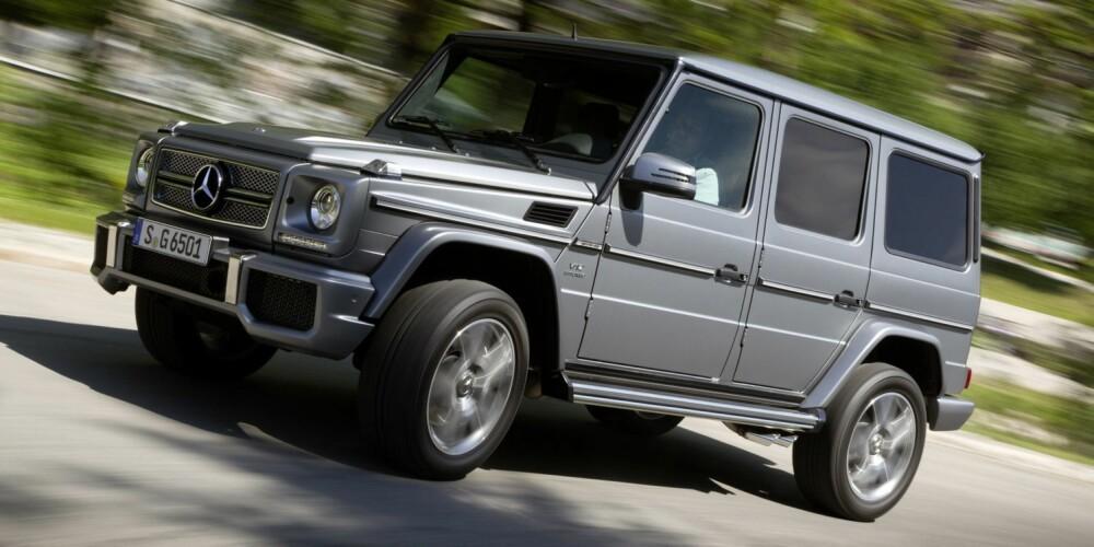 DYREST: Dette er Norges dyreste Mercedes, G 65 AMG.