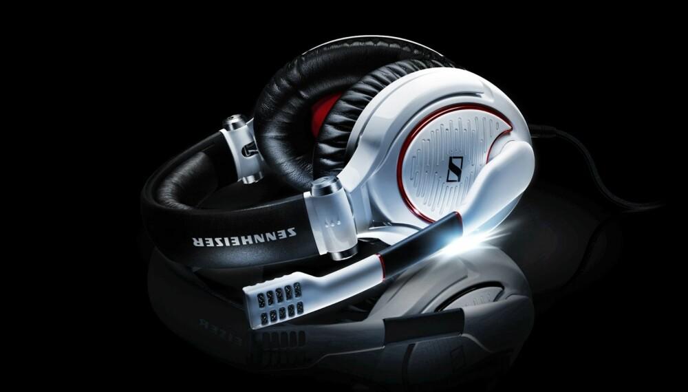 STILIG: Sennheiser G4ME Zero har et pent utseende, og leverer rå lyd i tillegg.