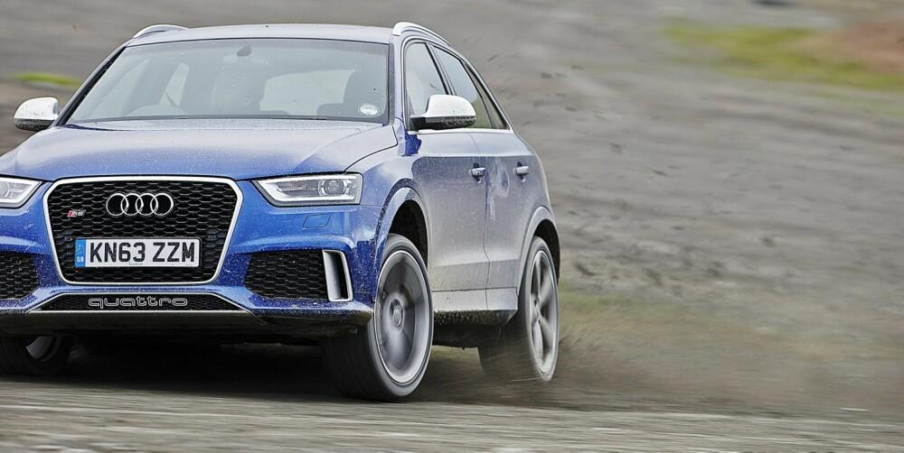 KOMPAKT-VERSTING: Audi RS Q3.