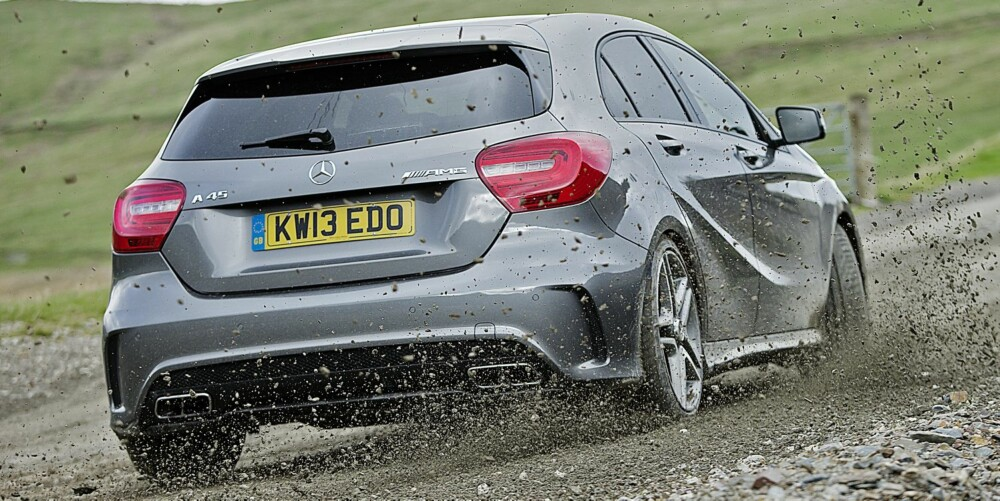 LYDEFFEKT: Mercedes-en skiller seg kraftig ut når det gjelder lydbilde.