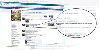 BLI MED: Følg oss på Facebook og få med deg siste nytt!