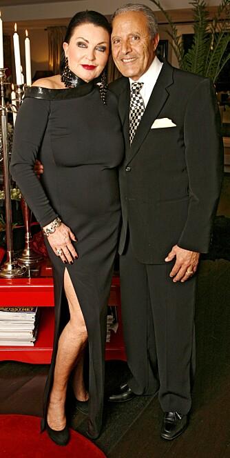 DEN GANG DA: Lilli og algeriske Kader holdt sammen i 45 år. Her er de sammen for tre år siden.