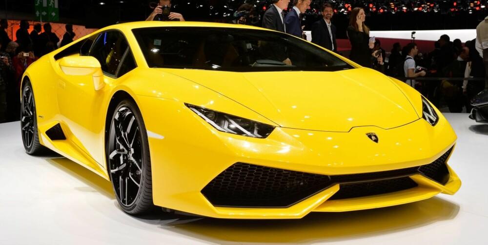 ERSTATTER: Huracán erstatter Gallardo som har vært en stor sukess for Lamborghini.