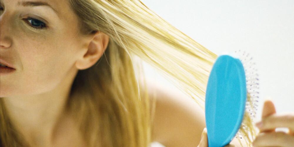 MANGE TYPER: Det er ikke det samme hvilken hårbørste du bruker.
