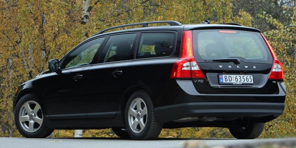 Volvo V70. Foto: Egil Nordlien, HM Foto