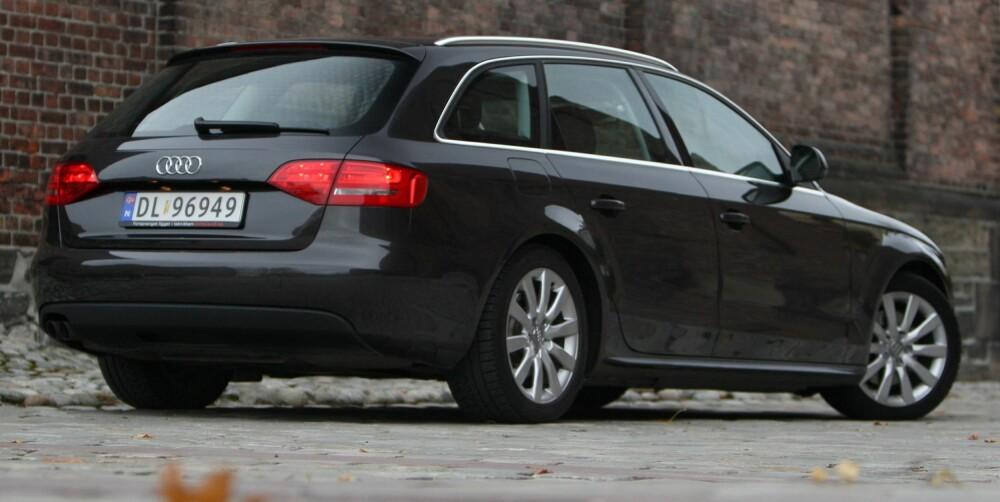 Audi A4. Foto: Egil Nordlien, HM Foto