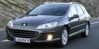 Peugeot 407. Foto: Peugeot