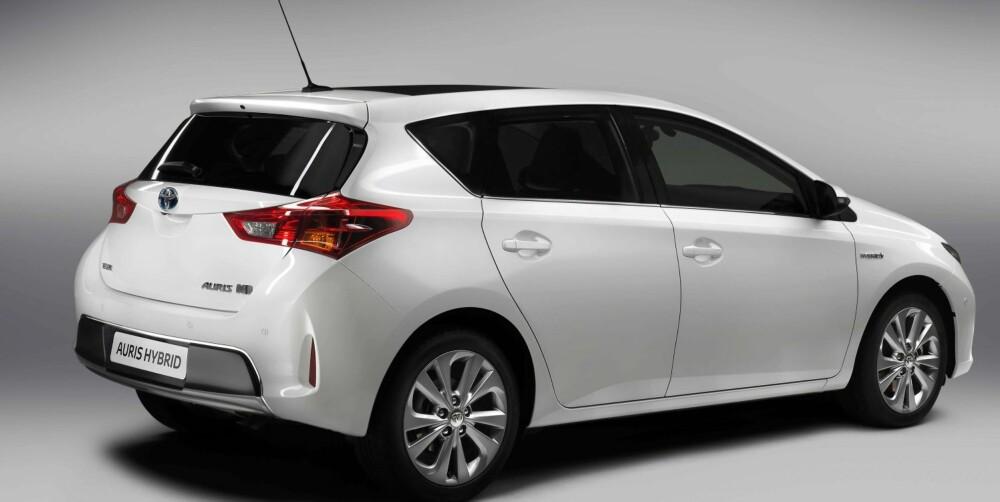 PARIS: Nye Toyota Auris vises frem for første gang på bilutstillingen i Paris i september. Foto: Toyota