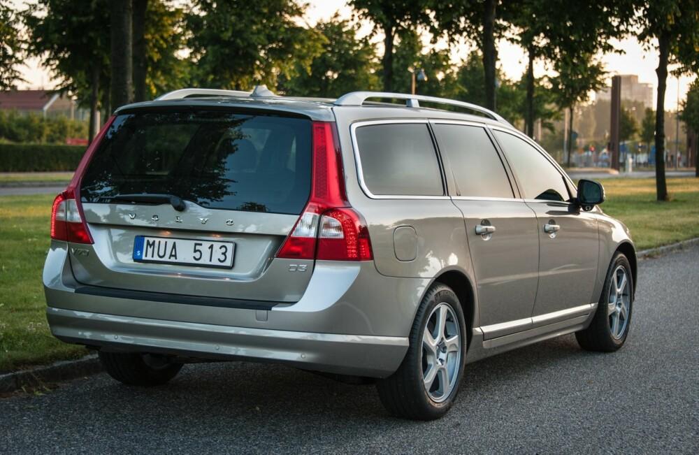 POPULÆR IMPORTBIL: Volvo V70. Foto: Erik Fagerwall