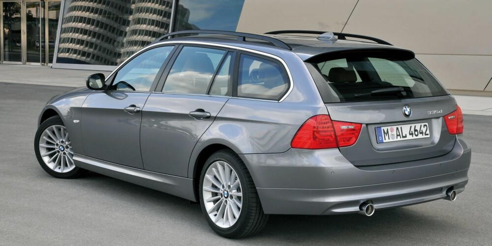POPULÆR IMPORTBIL: BMW 3-serie. Foto: BMW AG