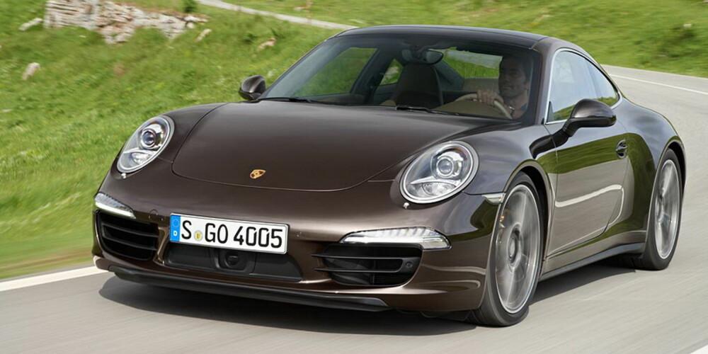 S eller ikke: Porsche Carrera 4S kan skilte med 400 hk, men mange vil nok synes standardversjonen med 350 hk klarer seg.