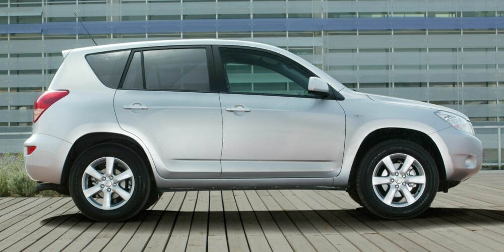 SOLID: Toyota RAV4 er en pålitelig SUV. Foto: Toyota