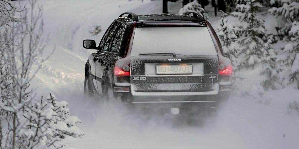 VOLVO XC90: God fremkommelighet på vinterføre er varemerket for 4WD-systemet.