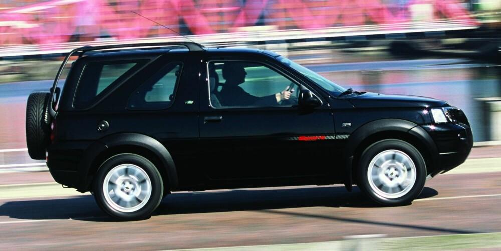 FORSIKTIG: Første generasjon Land Rover Freelander kommer dårlig ut i flere kvalitetsundersøkelser. Foto: Newspress