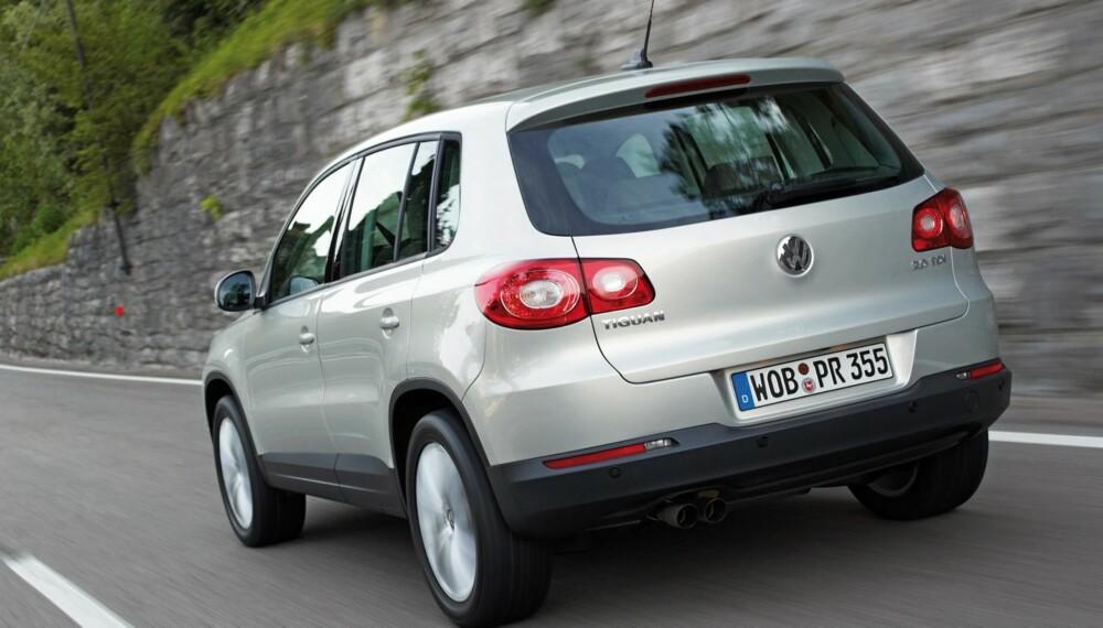 KVALITET: VW Tiguan kommer svært godt ut i Dekras siste kvalitetsrapport. Foto: HM Foto