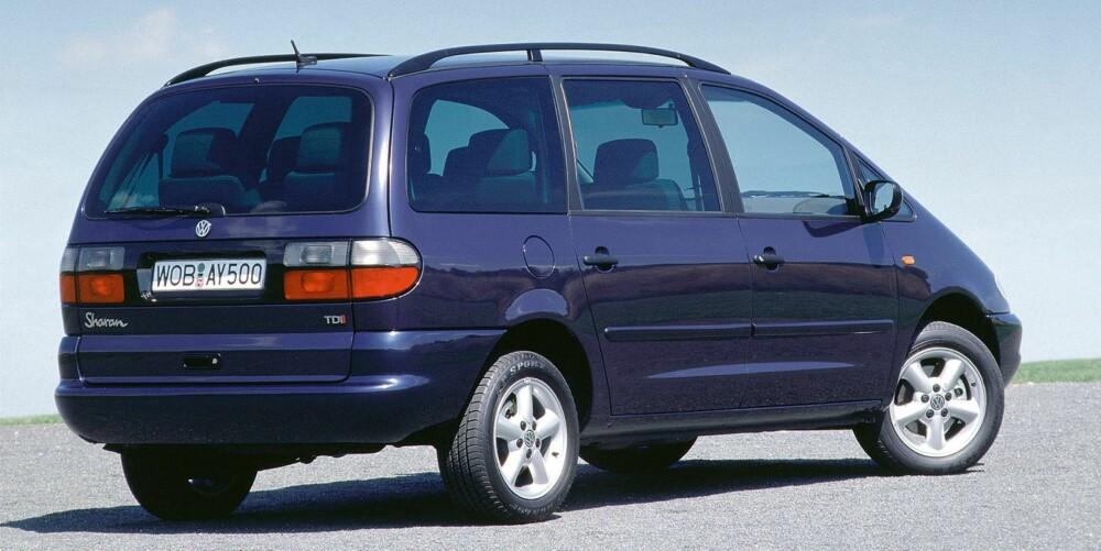 FORSIKTIG: Kvalitetsrapportenene tyder på at du bør være ekstra oppmerksom dersom du vurderer en eldre VW Sharan. Foto. VW