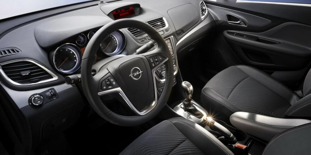 ROM: Bilen skal ha hele 19 oppbevaringsrom, ifølge Opel. Foto: Axel Wierdemann