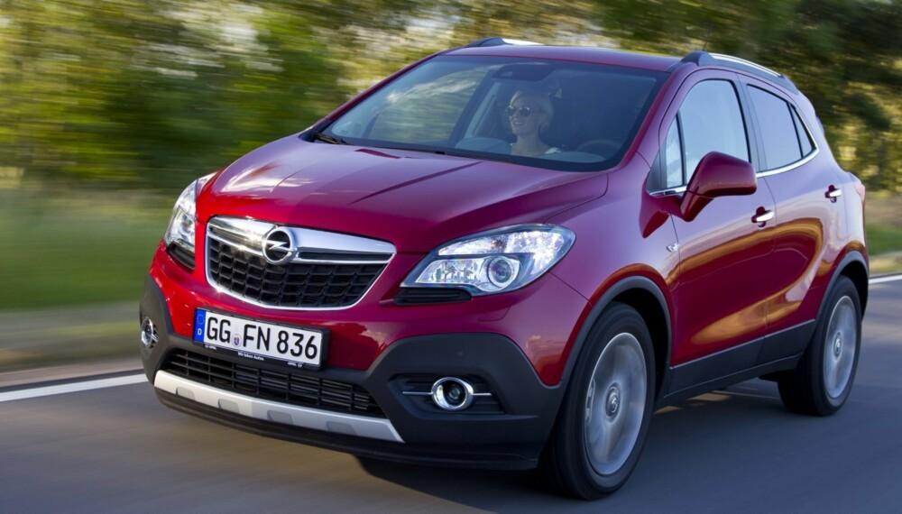 SELGER: Forhåndsbestillingene på Mokka lover godt for Opel. Foto: GM
