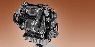 NYE MOTORER: De ferskeste motorseriene er strømlinjeformet for bruk i MQB-systemet-