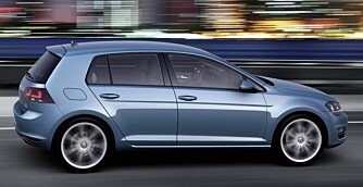NY: VW Golf - syvende generasjon.