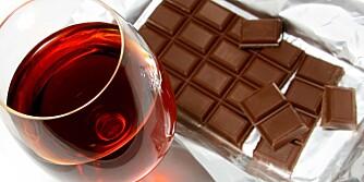 BRA FOR HUDEN: - Rødvinprodukter hjelper til med å forbedre blodtilstrømningen til huden, noe som gir den en sunn glød, sier hudpleier Diane Hanson. Kakao inneholder stoffer som stimulerer cellesirkulasjonen og beskytter huden mot uttørring
