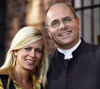 KJENT FJES: Monica Øien og Egil Svartdahl medvirket i «TV-pastoren» på TV 2.