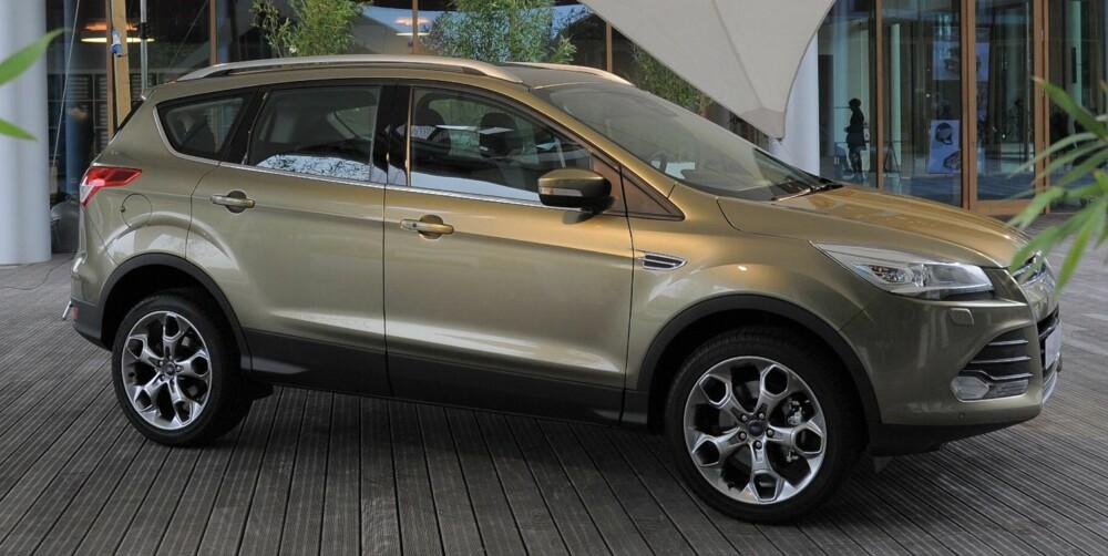 RETT RUNDT HJØRNET: Ford Kuga. Foto: Ford