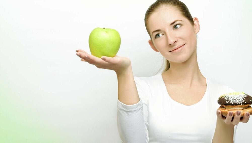 SUNNE VALG: Gjør sunne valg i kostholdet under svangerskapet. Her får du tips til hva du skal styre unna, og hva du trenger.