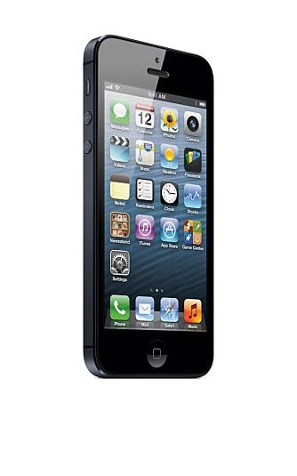 IOS 6: Samtidig med iPhone 5 ble operativsystemet iOS oppgradert. iOS 6 har blant annet en ny kartfunksjon med navigering.