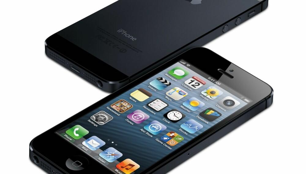 FILMSKJERM: Skjermen på iPhone 5 er nå tilnærmet lik 16:9-format, og dermed mer filmvennlig.