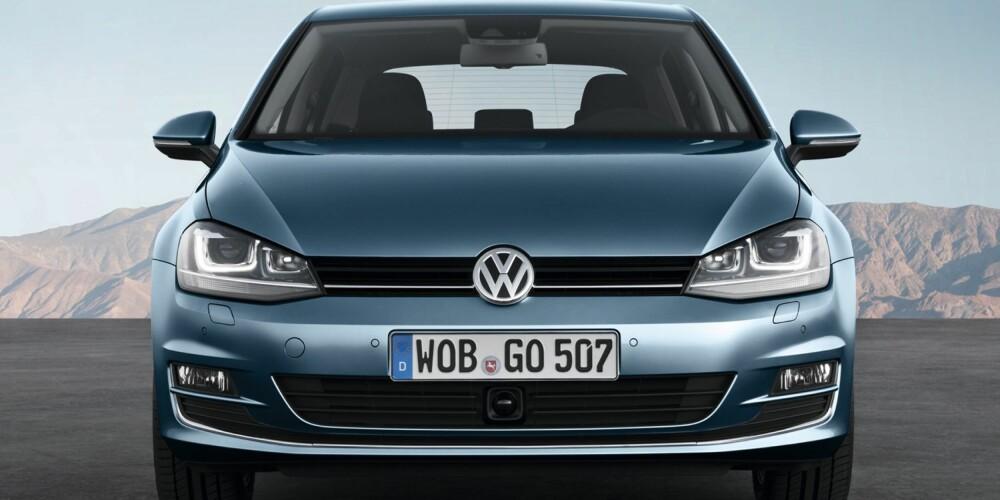 SPENNENDE: Den mest spennende motornyheten er EN 1,4-liters bensinturbo på 140 hk. Den kutter to sylindre når det ikke er behov for ekstra kraft. Foto: VW