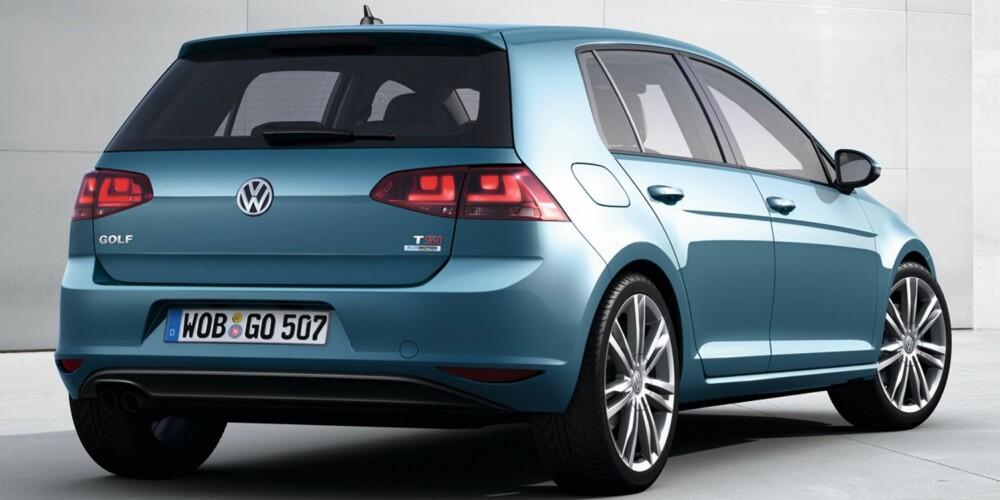 NORGESMODELL: Nye Golf kommer også som firehjulstrekker. Foto: VW