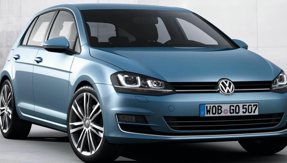 POPULÆR: VW Golf er allerede en ettertraktet bil. Foto: VW