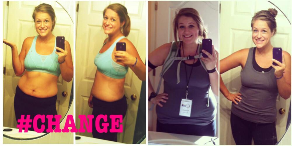 MOTIVASJON: Ved å fortelle om sin kamp for en sunnere kropp og livvstil, har Amanda inspirert tusenvis av andre.