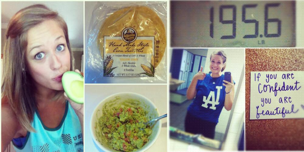 SUNNHETSREVOLUSJON: Facebook siden er blitt Amandas dagbok og støttespiller i kampen mot kiloene.