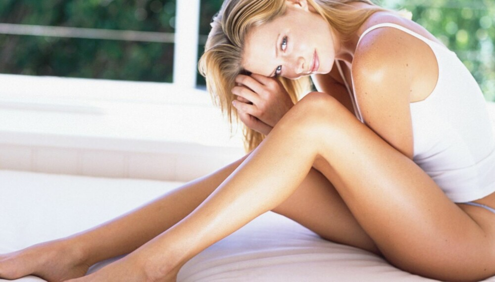 FINE BEIN: Mange kvinner vegrer seg for å vise frem beina sine.