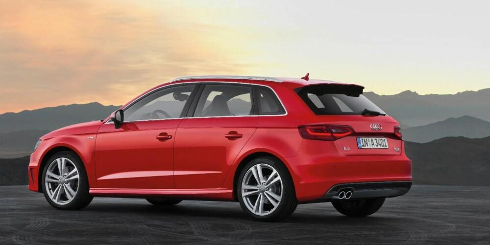 FEMDØRS A3: Audi har allerede lansert nye A3 i tredørsversjon. Nå kommer også versjonen med fem dører.