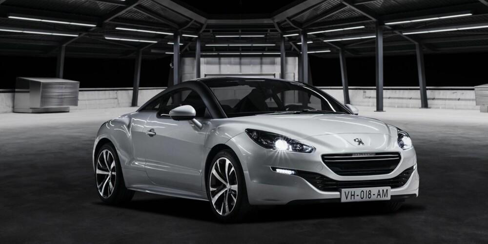 ENDA RÅERE: Peugeot RCZ får en facelift, men franskmennene viser også frem en R-versjon med mer krefter.